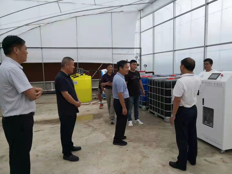 9月2日,四川雄一电解水项目正式落户山东省临沂市费县